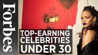 Top-Earning Celebrities Under 30
