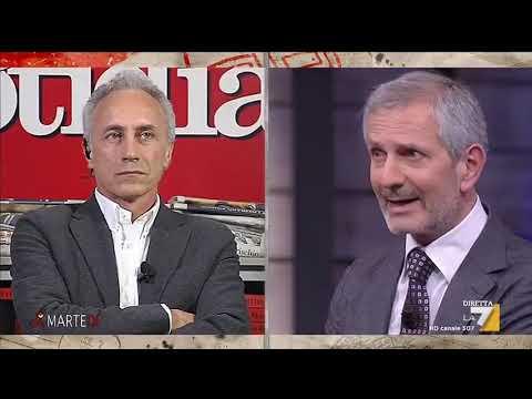 Marco Travaglio e Gianrico Carofiglio discutono dell'attualità politica