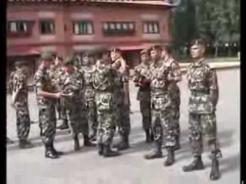 Nepalese Military Academy, officer cadet training 45th batch.