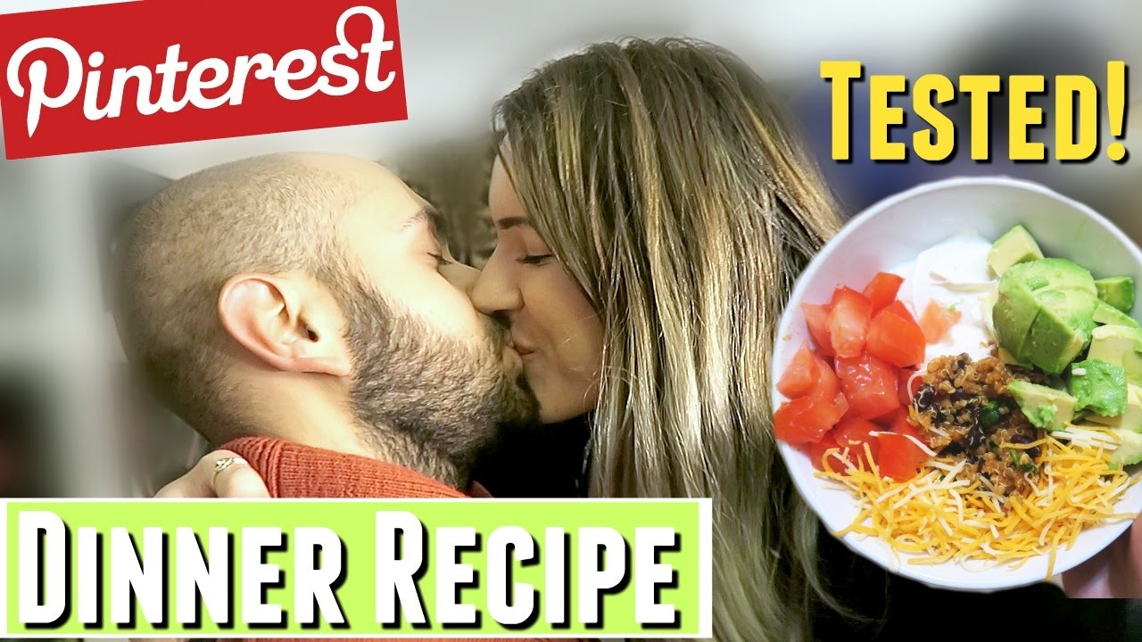 GIRLFRIEND COOKS DINNER FOR BOYFRIEND Healthy Dinner Recipe For TWO Tested