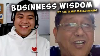 Download lagu WISDOM from 30 years na experience sa pag nenegosyo by sir Elmie Macalindong