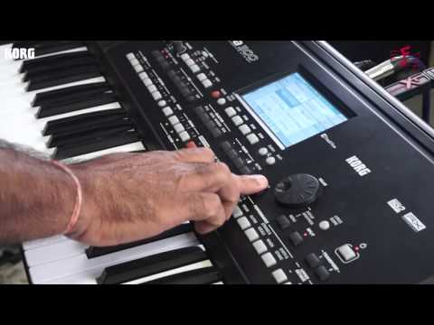 KORG - PA 300  MP3 Player Feature