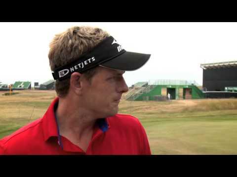 Luke Donald Interview - 2013 Open