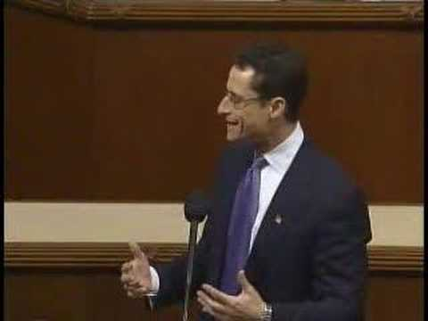 Anthony Weiner Speaks in Support of Iraq Resolution (Part 1)