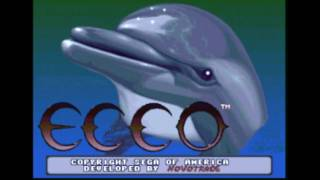 CGR Undertow - ECCO THE DOLPHIN for Sega Genesis Video Game Review