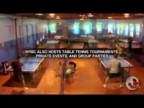 New York Indoor Sports Club | Table Tennis and Indoor Soccer