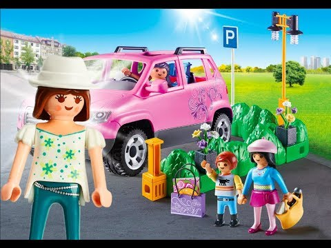 playmobil citylife 2018 magasin playmobil voiture playmobil einkaufspassage playmobil youtube. Black Bedroom Furniture Sets. Home Design Ideas