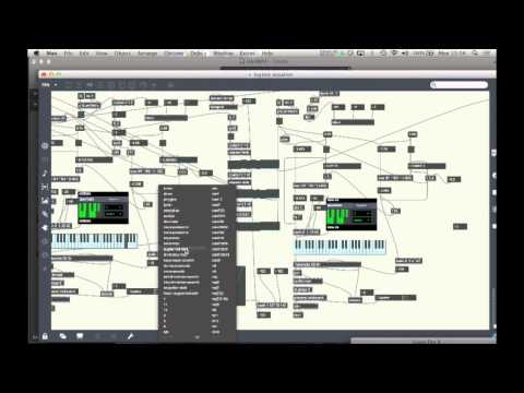Half-hour Chaotic Algorithmic Max patch (A*B*(1-B)) using Logic instruments.