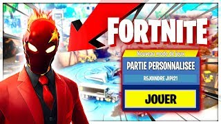 🔴 [FORTNITE EN) LIVE PART PERSO: Code jipi21] I BUY THIS MAGNIFIC SKIN !!!! [FACECAM]