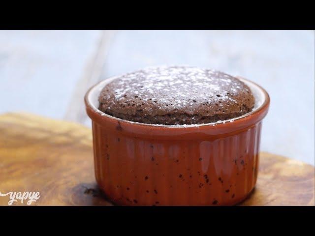 Pratik Çikolatalı Sufle Tarifi,  Ev Yapımı kolay sufle Nasıl Yapılır?