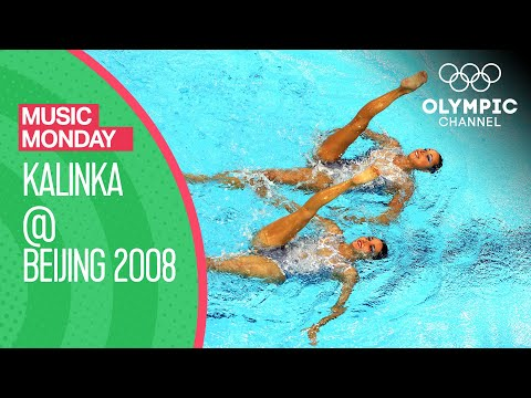 "Spain's Artistic Swimming Duet Routine To ""Kalinka"" At Beijing 2008 