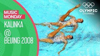 "Spain's Artistic Swimming Duet Routine to ""Kalinka"" at Beijing 2008   Music Monday"