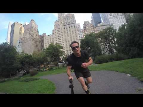 Inline Skating New York City  -The First Hour With Bill Stoppard
