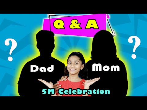 Question And Answer ft. Pari's Lifstyle | Real Parents,Schoo