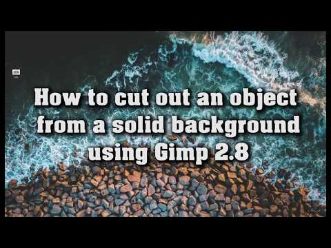 Gimp Tutorial - How to Delete a Single Color Background thumbnail
