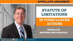 Statute of Limitations in Foreclosure Cases