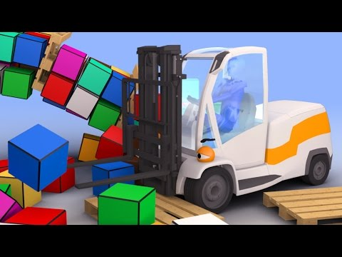 VIDS for KIDS in 3d (HD) - Auto Loader, Forklift Joe at Work - AApV