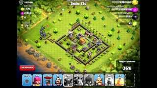 clash of clans le sort de sorcier