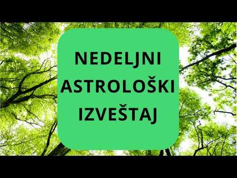 NEDELJNI ASTROLOŠKI IZVEŠTAJ (19.08. - 25.08.2019.)