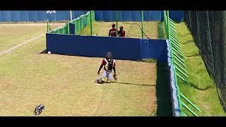 상우고등학교 야구부 포수 프레이밍 영상