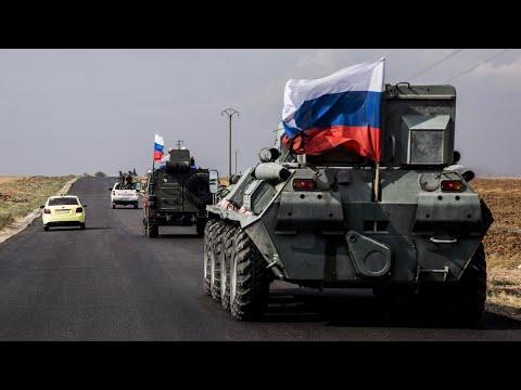 Российские военные: Турция перебросила в Сирию колонны боевой техники и боеприпасы.