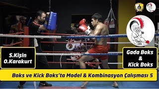 Kick boks kombinasyonları 5 / Kick boxing combinations 5
