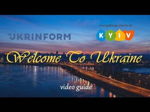 Video Guide Welcome To Ukraine. Kyiv 2017. Eurovision | Ice Hockey | Travel