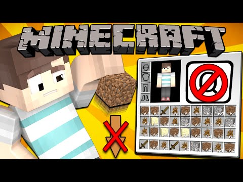 Thumbnail: If You Couldn't Drop Items in Minecraft