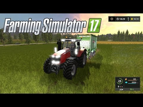 Farming Simulator 17--Private World Tour!--HOW MUCH WOOD CAN A RICK CHUCK CUT?!
