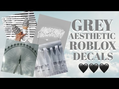 Blue Aesthetic Roblox Decal Grey Aesthetic Roblox Decals Roblox Bloxburg Youtube