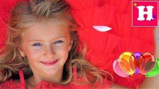 День рождения Николь / 6 лет / Катаемся на электромобиле / Сказка перевоплощение / Праздник