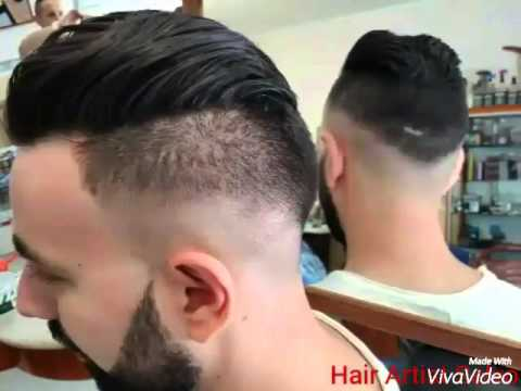 Taglio di capelli uomo dietro