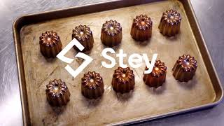 Cannelés Au Whisky ウィスキーカヌレ | STEY Baking