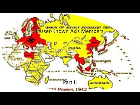 Lesser Known Axis Members | Part II |