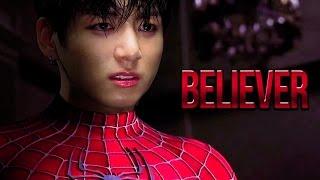 Video taekook | believer (SUPERHERO AU) download MP3, 3GP, MP4, WEBM, AVI, FLV Juli 2018