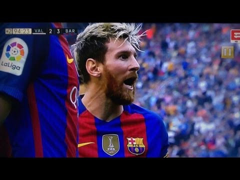 Download Barcelona vs Valencia 3-2 / all goals and Highlights : fights and more (22/10/016) HD