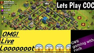 Live || Clash of clan || base review and new attack strategy