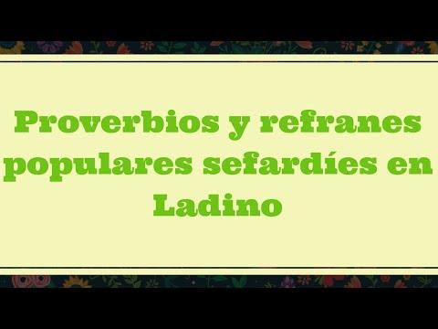 proverbios-y-refranes-populares-sefardíes-en-ladino