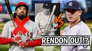 Anthony Rendon OUT FOR SEASON After This! Rizzo MAKES HISTORY, Shohei Ohtani Pitches Gem (MLB Recap)
