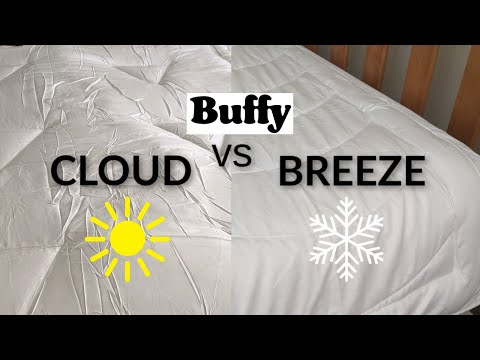 Buffy Comforter Too Hot? The Buffy Breeze vs Cloud Review