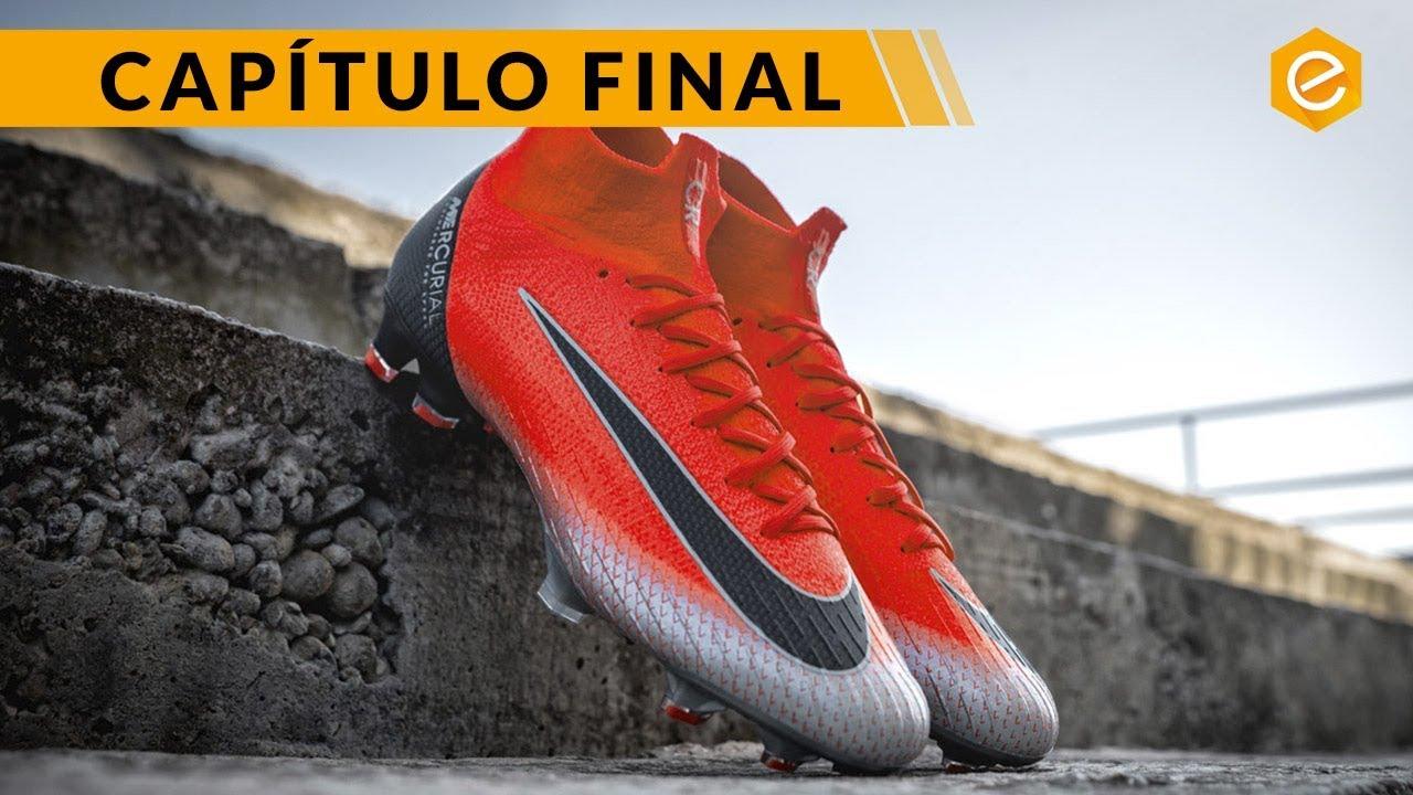 94e83ef5bbc8d ÚLTIMA BOTA EXCLUSIVA de CRISTIANO RONALDO · Nike Mercurial CR7 ...