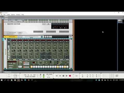 Learn Reason 8.3 | Using the Redrum Drum Machine | Part II