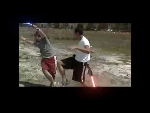 Epic Lightsaber Fight - Fields of Peril