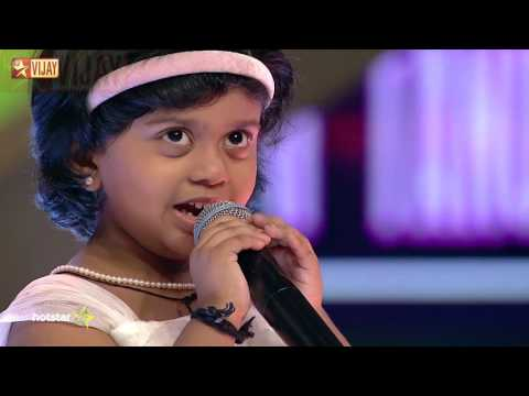 Super Singer Junior - Putham Pudhu Kaalai by Tanushree