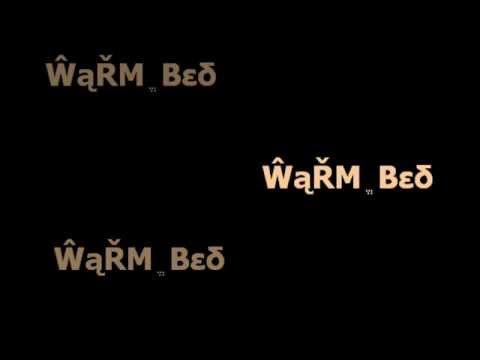 Warm Bed - Jamie Foxx