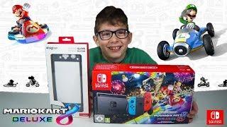 O Γιώργος κάνει unboxing το Nintendo Switch Mario Kart 8 Deluxe Unboxing ΓΕΙΑ ΣΟΥ ΧΑΡΗ !!!