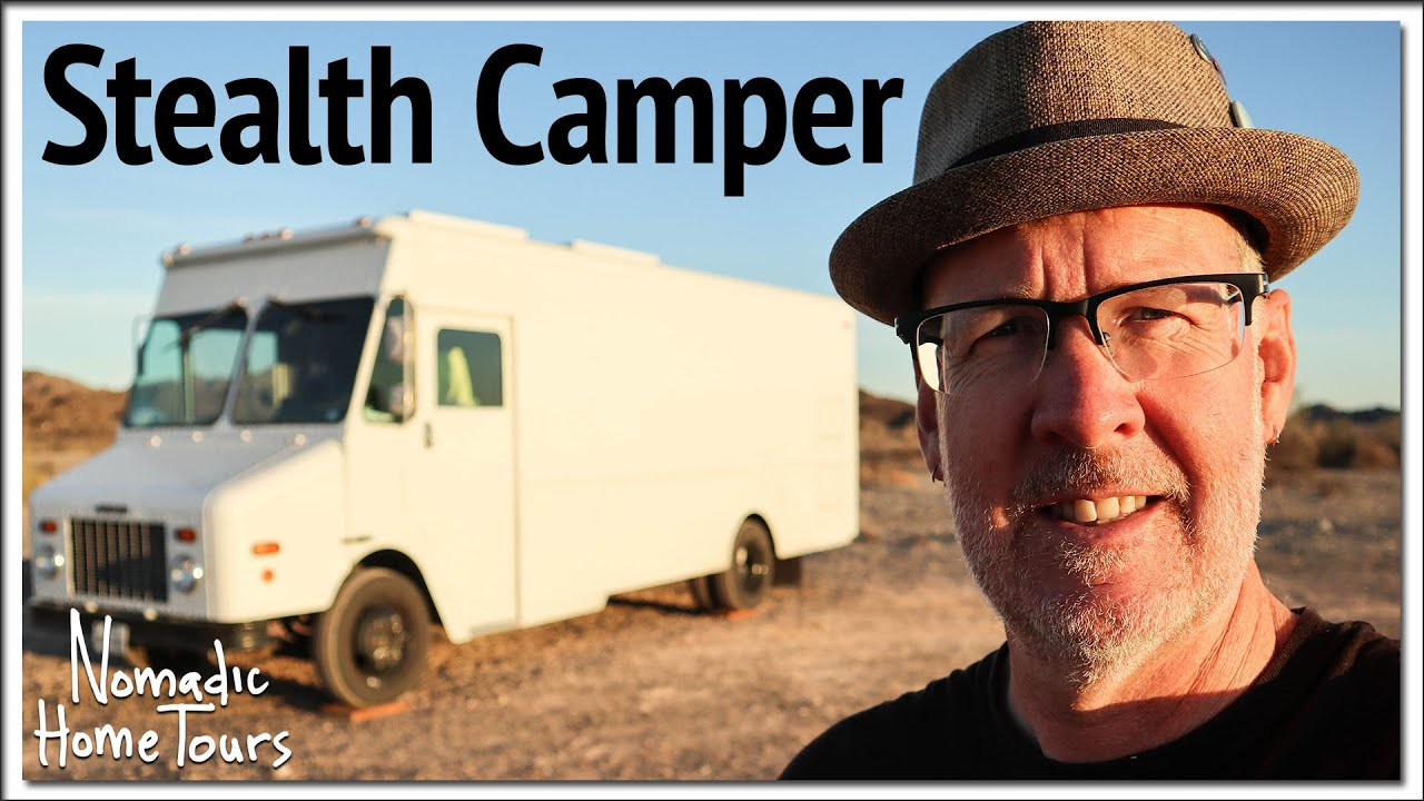 Stealth Camper Step Van by Seven Grey