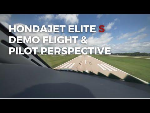 Flying The Brand New HondaJet Elite S | Pilot's Perspective & Flight VLOG