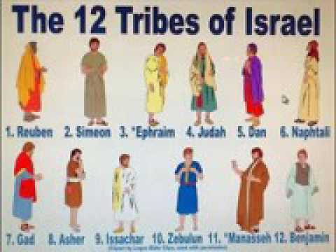 12 Tribes Of Israel   YouTube