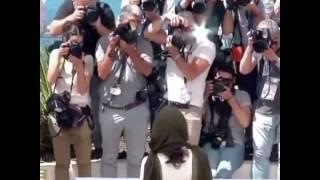 شهاب حسینی و ترانه علیدوستی در فتوکال جشنواره 69 ام کن - فیلم فروشنده